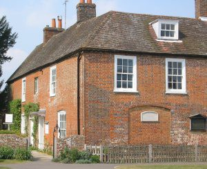 Chawton Cottage Bricked- Up Window